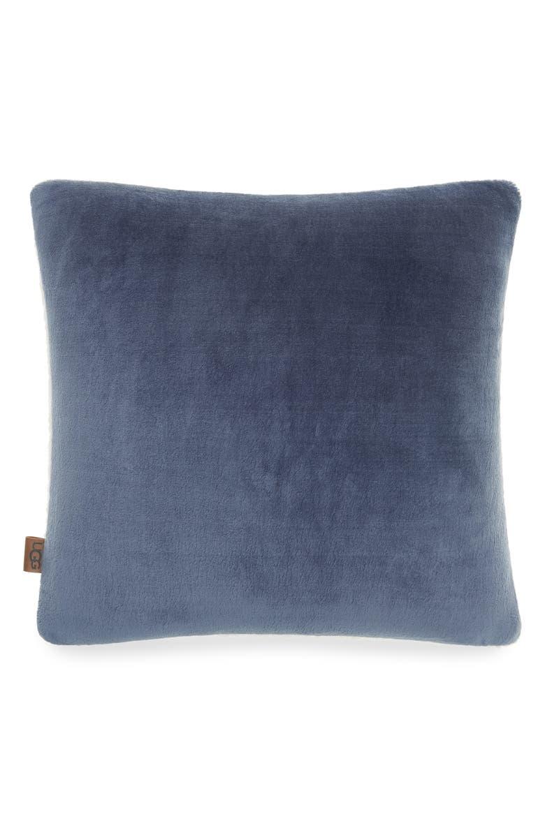 UGG<SUP>®</SUP> Wade Pillow, Main, color, DENIM