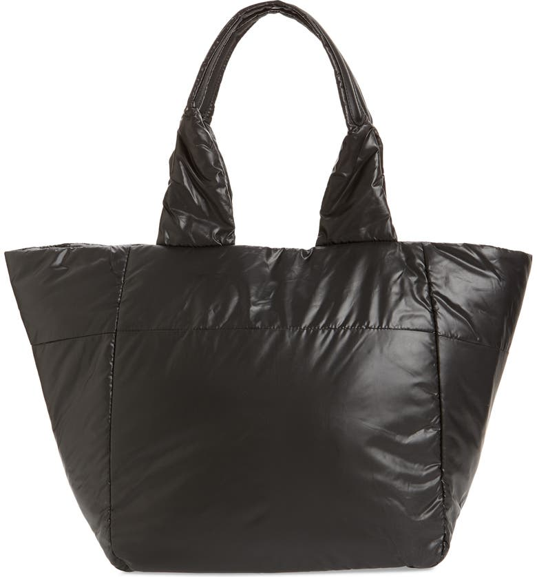 CARAA Medium Cumulus Tote, Main, color, BLACK