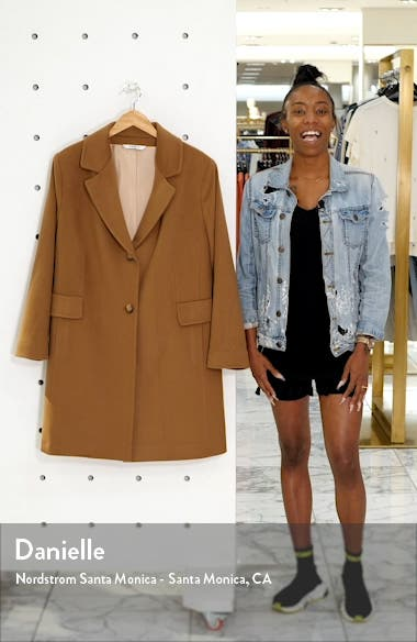 Notch Collar Coat, sales video thumbnail