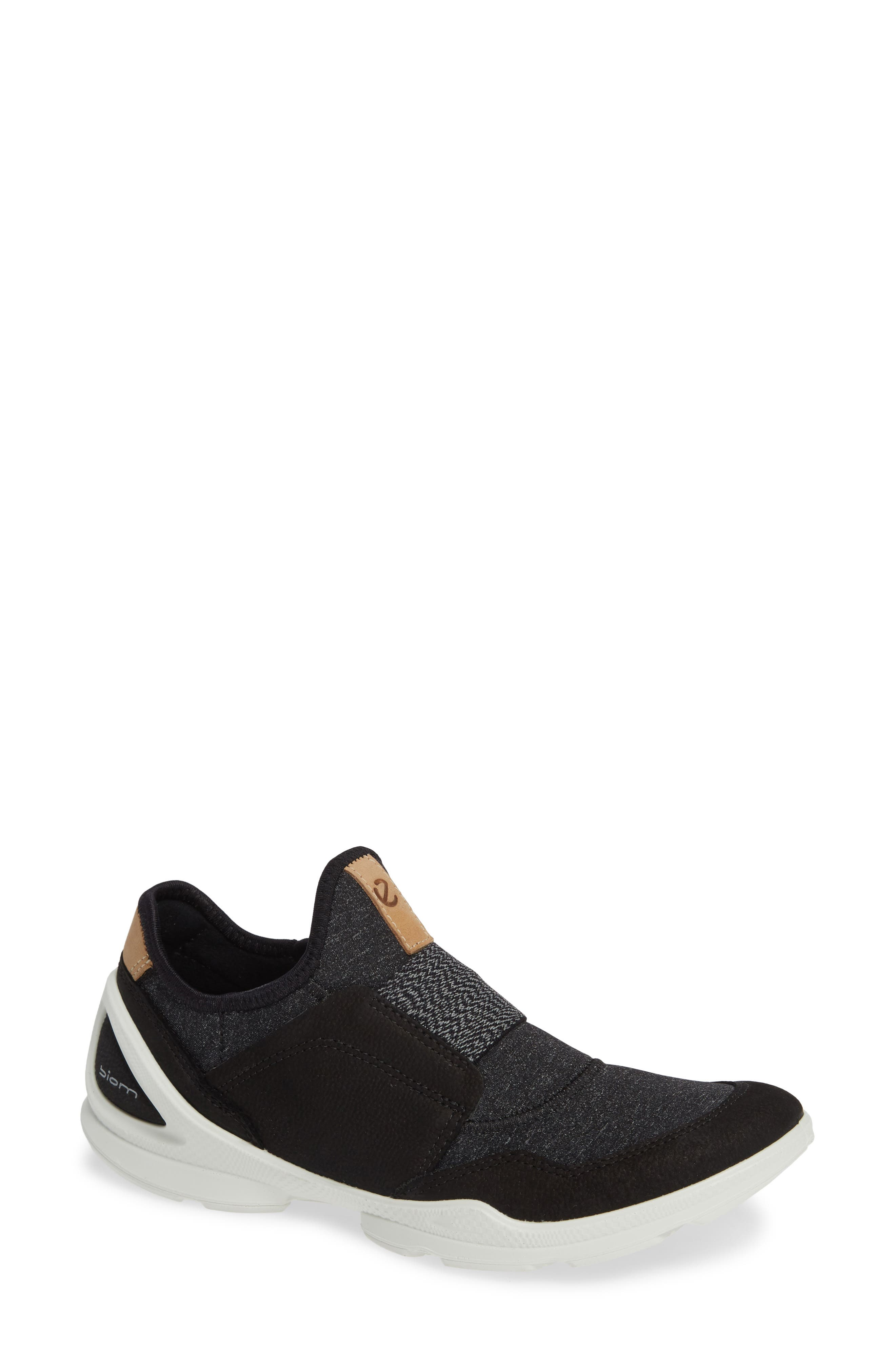 Ecco Biom Street Slip-On Sneaker, Black