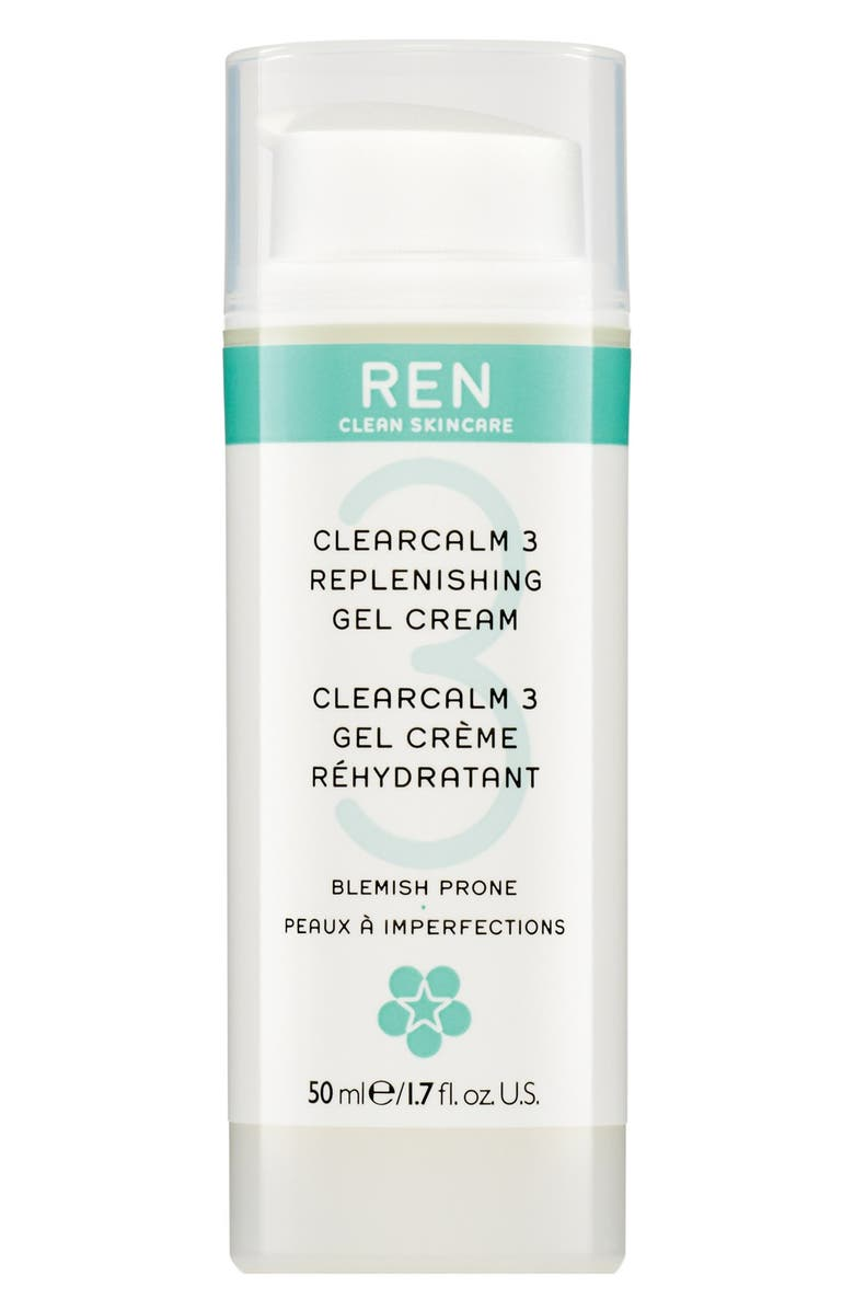 REN SPACE.NK.apothecary REN Clearcalm 3 Replenishing Gel Creme, Main, color, 000