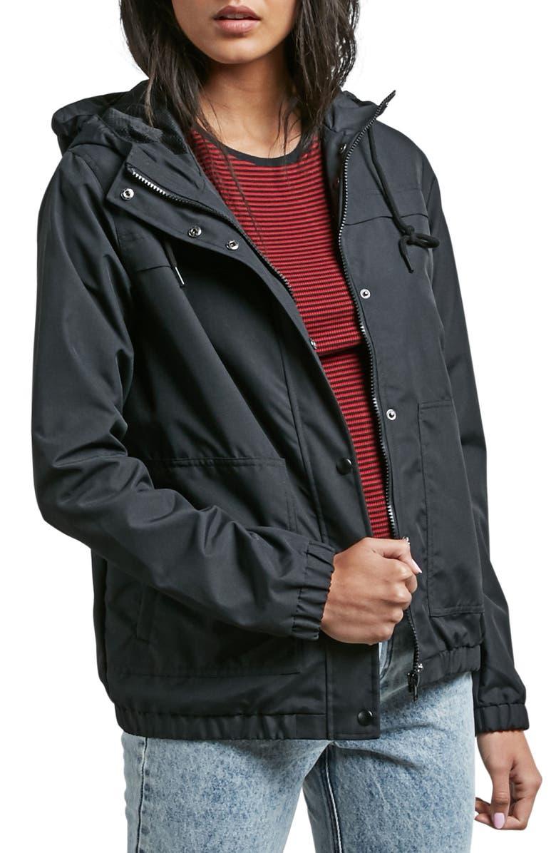 VOLCOM Enemy Stone Jacket, Main, color, BLACK