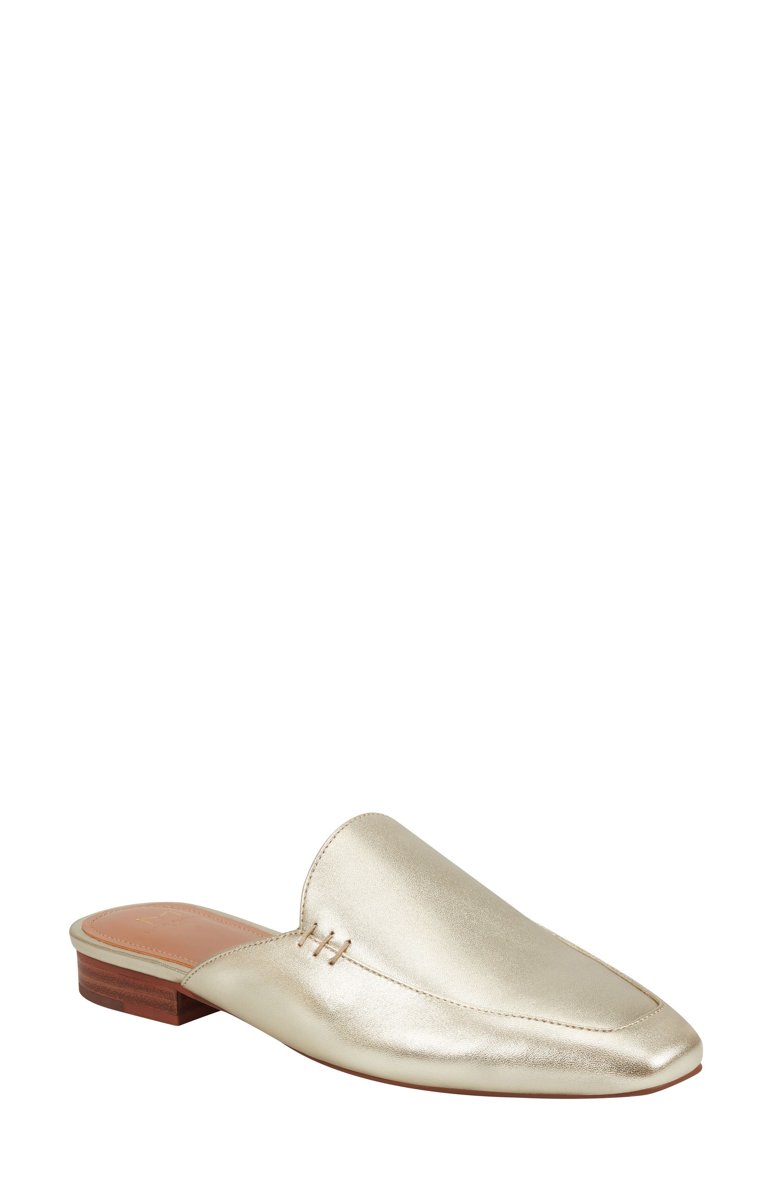 Image of Marc Fisher LTD Pam3 Leather Flat Mule