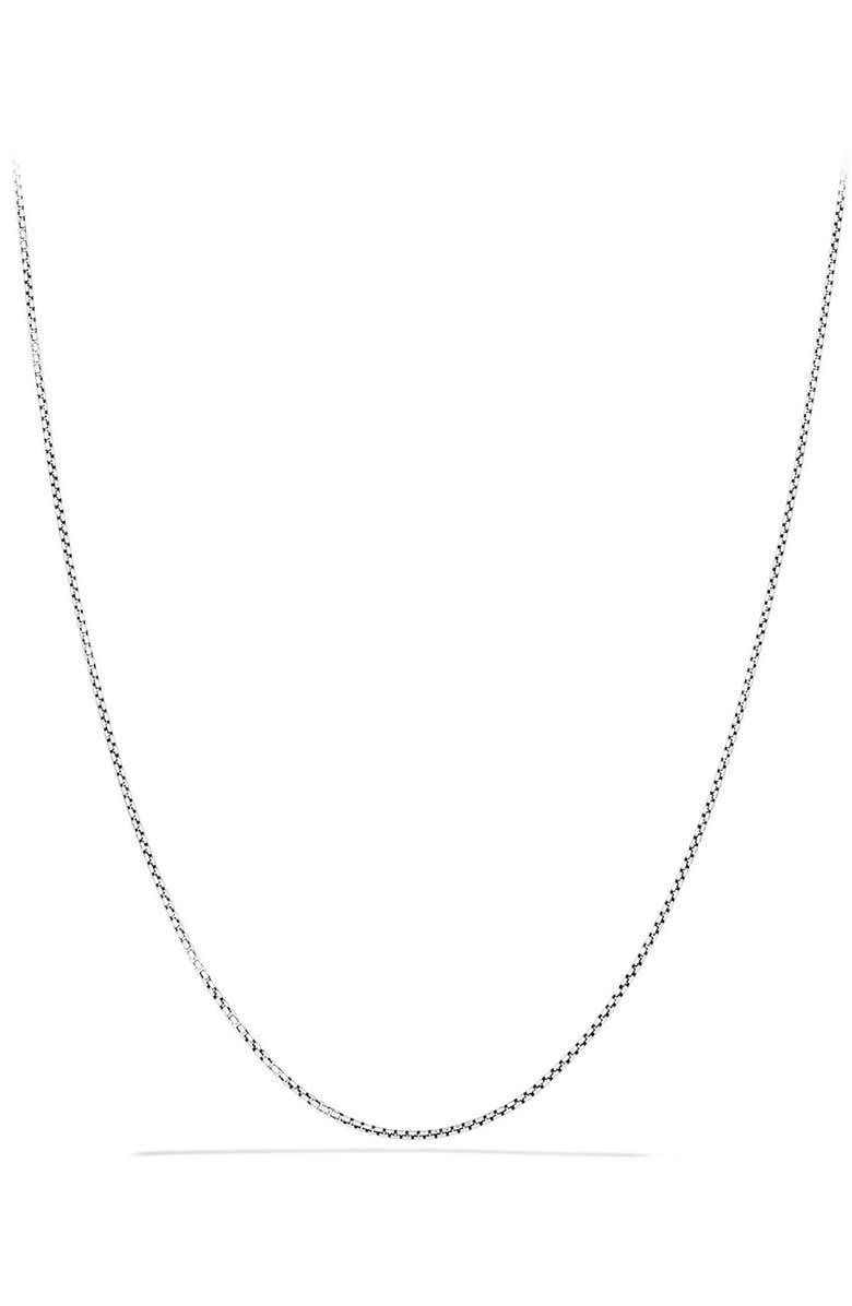 DAVID YURMAN 'Chain' Baby Box Chain Necklace, Main, color, TWO TONE