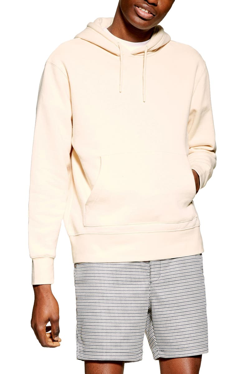 TOPMAN Tristan Hooded Sweatshirt, Main, color, 250