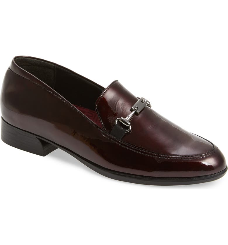 MUNRO Harrison II Bit Loafer, Main, color, RUBY PATENT