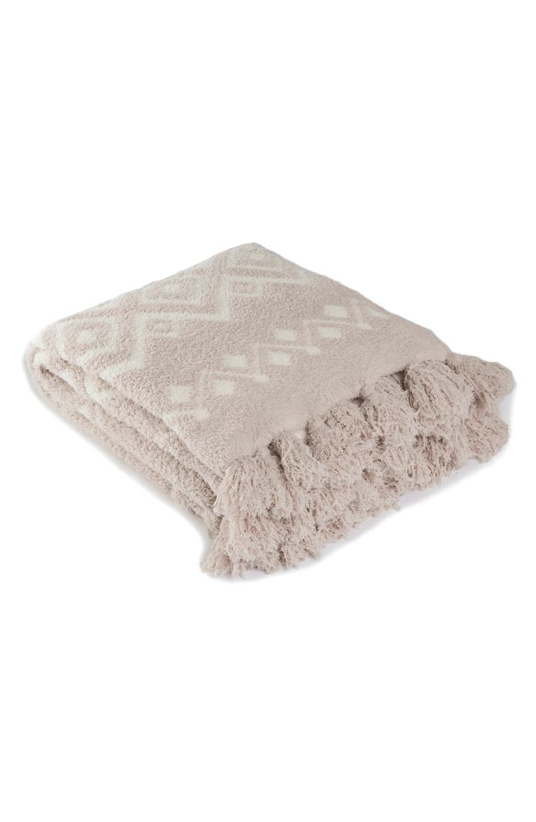 BAREFOOT DREAMS<SUP>®</SUP> CozyChic<sup>™</sup> Topanga Throw Blanket, Main, color, 020
