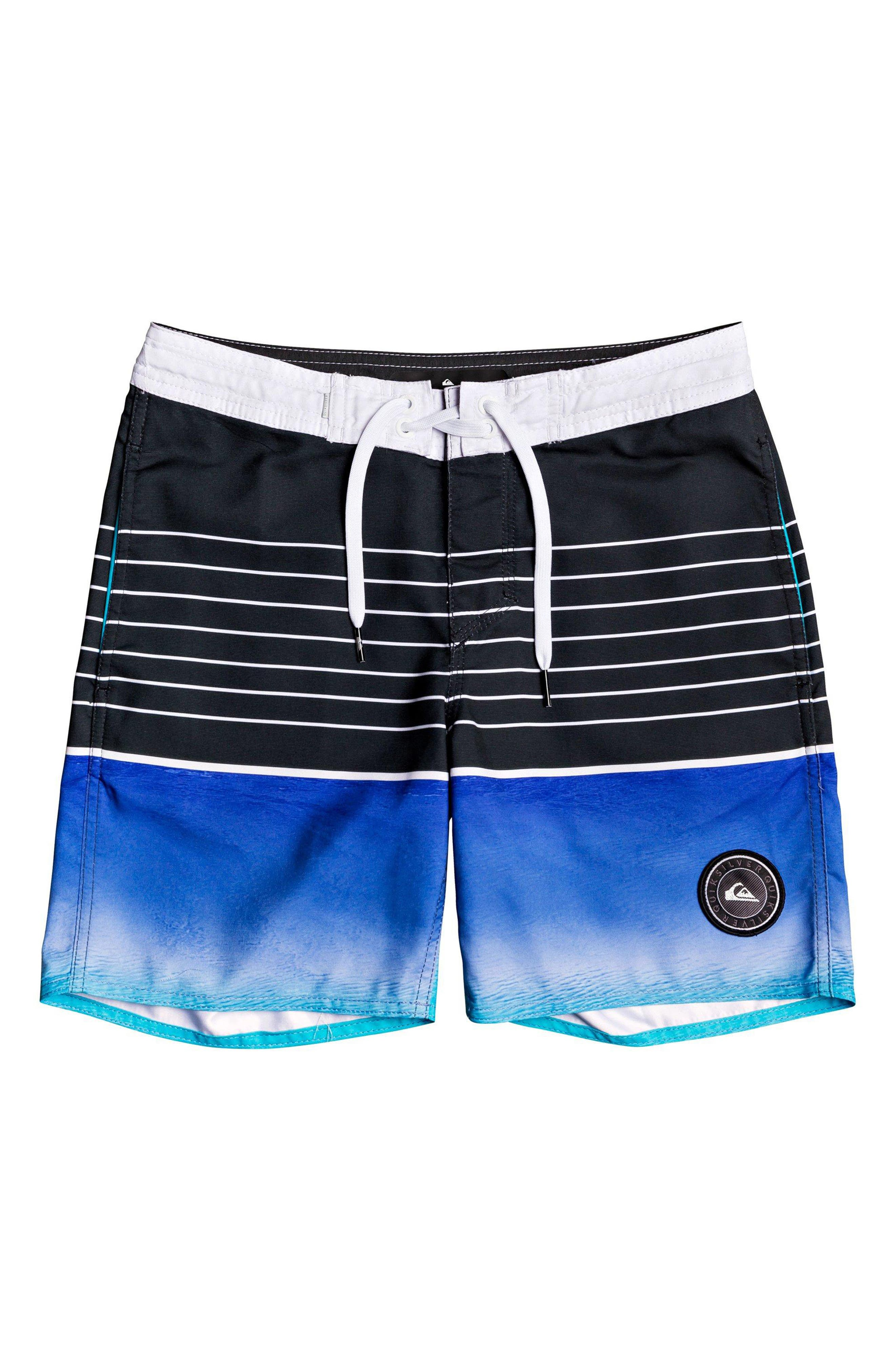 Boys Quiksilver Swell Vision Board Shorts Size 23  Blue
