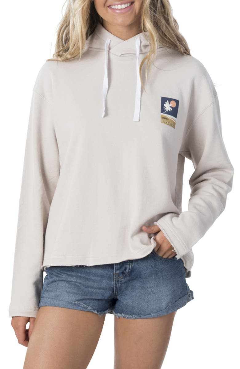 RIP CURL Sunsetters Hooded Sweatshirt, Main, color, 020