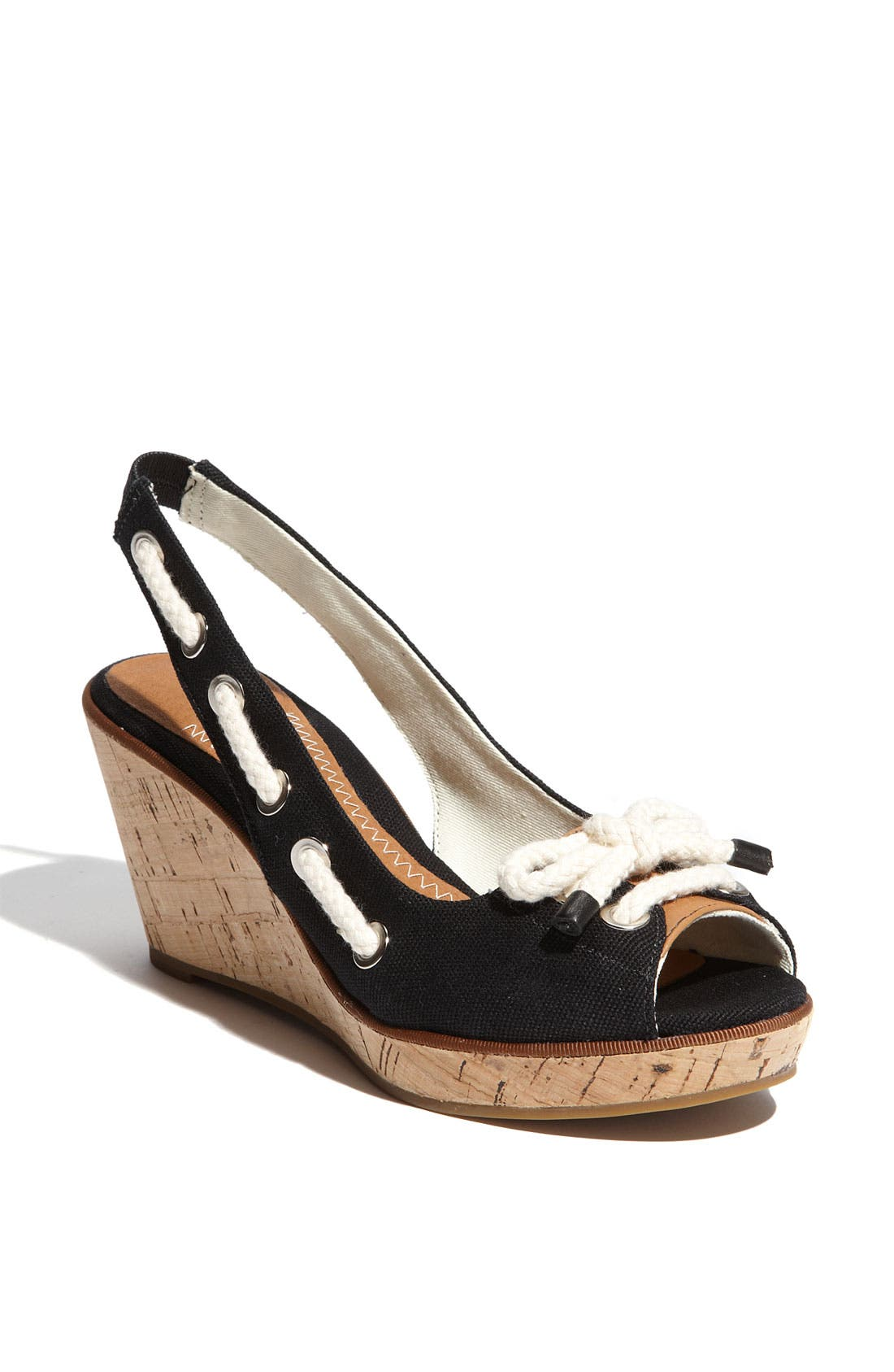 ,                             Top-Sider<sup>®</sup> 'Southport' Slingback Wedge,                             Main thumbnail 2, color,                             002