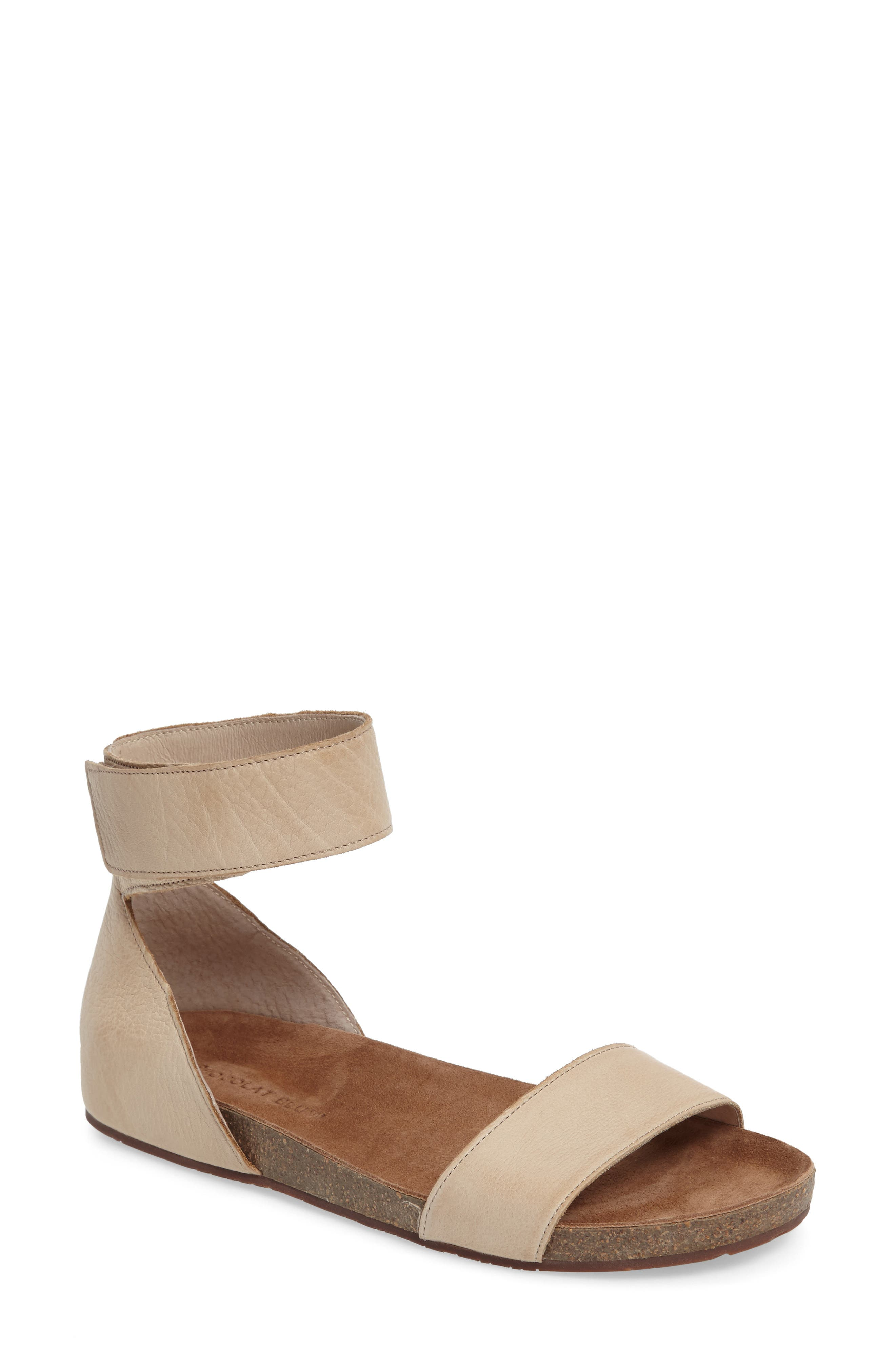 Chocolat Blu York Ankle Strap Sandal