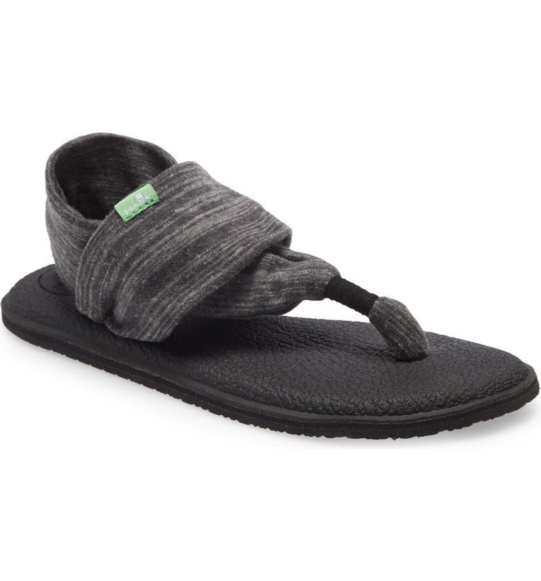 SANUK 'Yoga Sling 2' Sandal, Main, color, BLACK MULTI