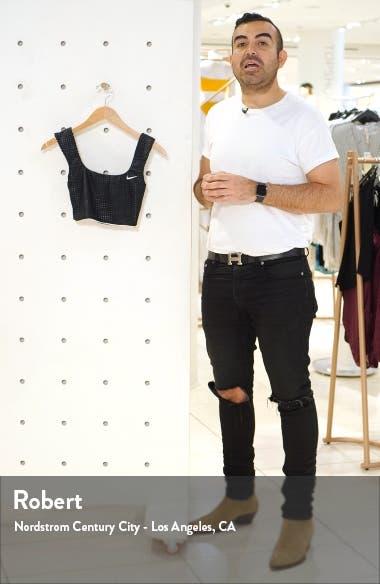 Sport Mesh Reversible Longline Bikini Top, sales video thumbnail