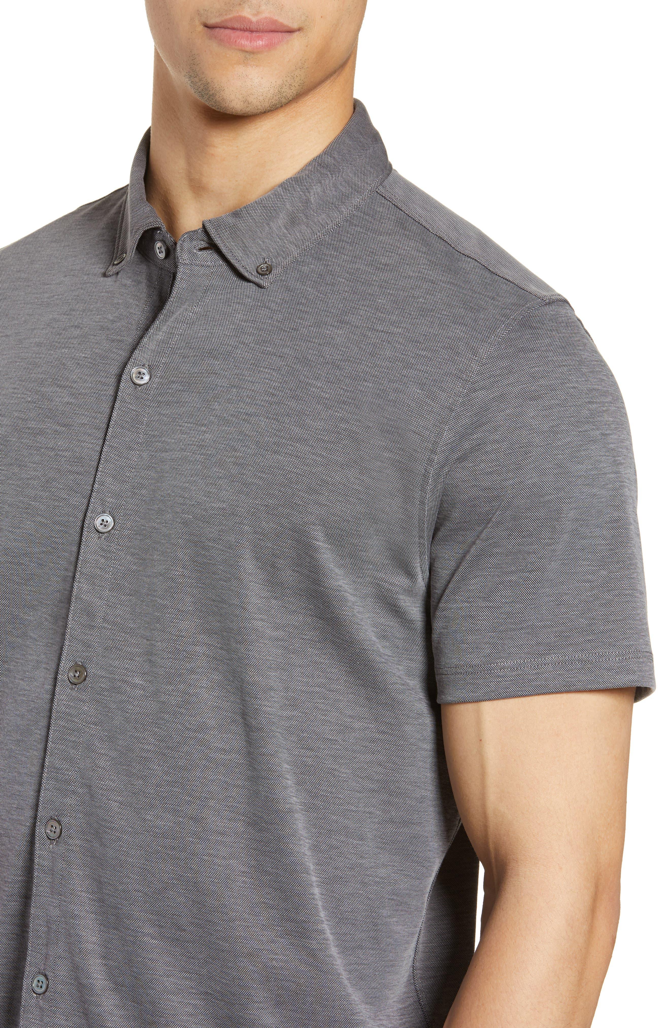 ,                             Caruth Regular Fit Short Sleeve Sport Shirt,                             Alternate thumbnail 10, color,                             020