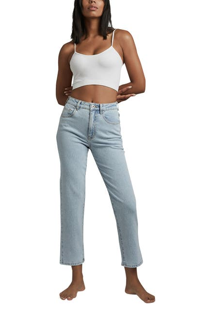 Image of Cotton On Straight Stretch Jeans