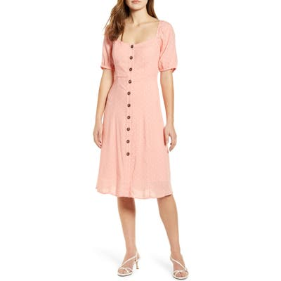 Petite Gibson X International Day Musings Of A Curvy Lady Sweetheart Dress, Pink