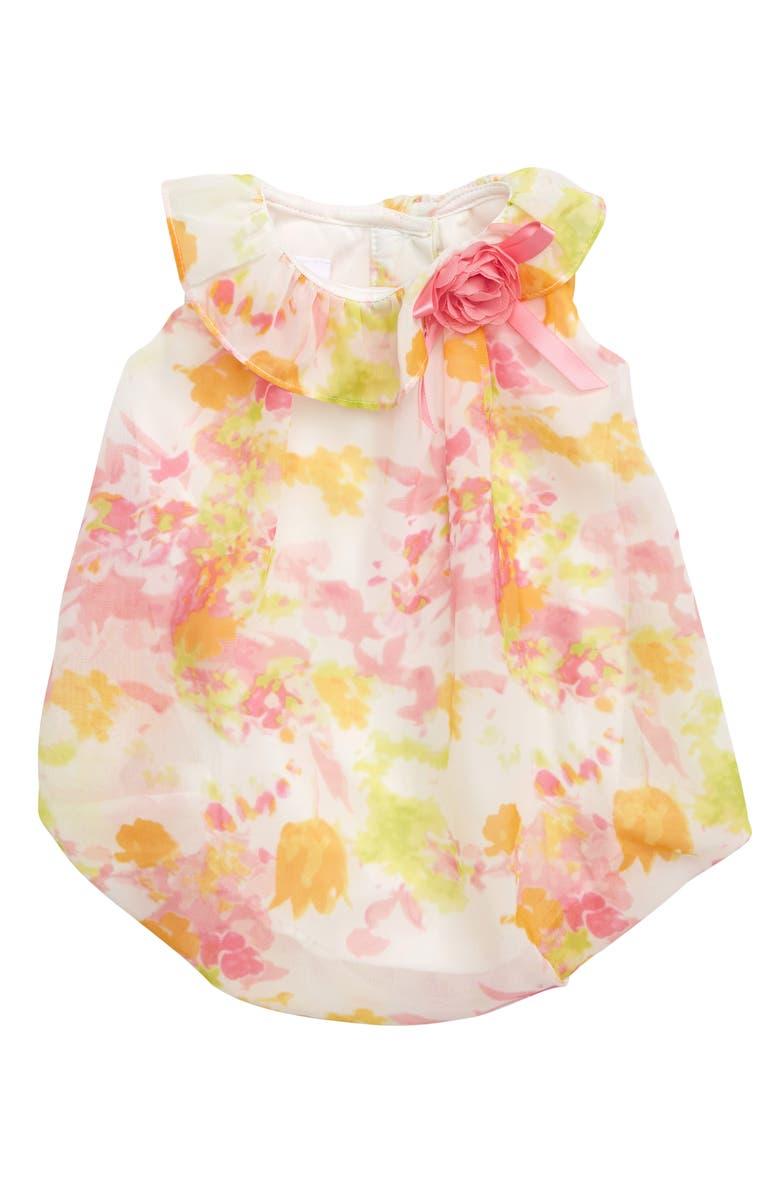 Frais Floral Chiffon Romper Baby