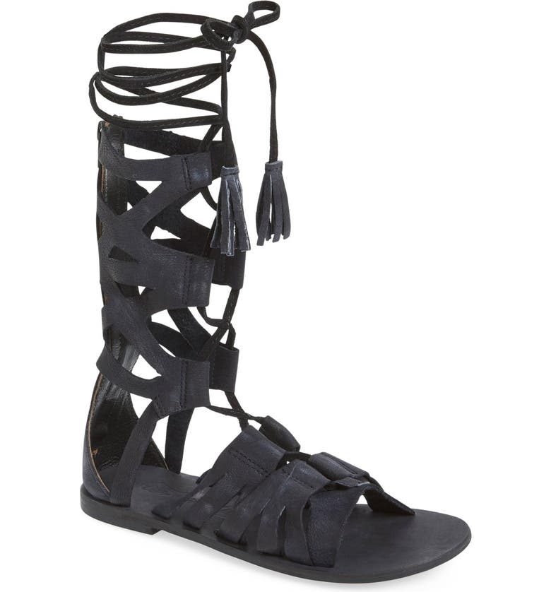 FREE PEOPLE 'Mesa Verde' Tall Gladiator Sandal, Main, color, 001
