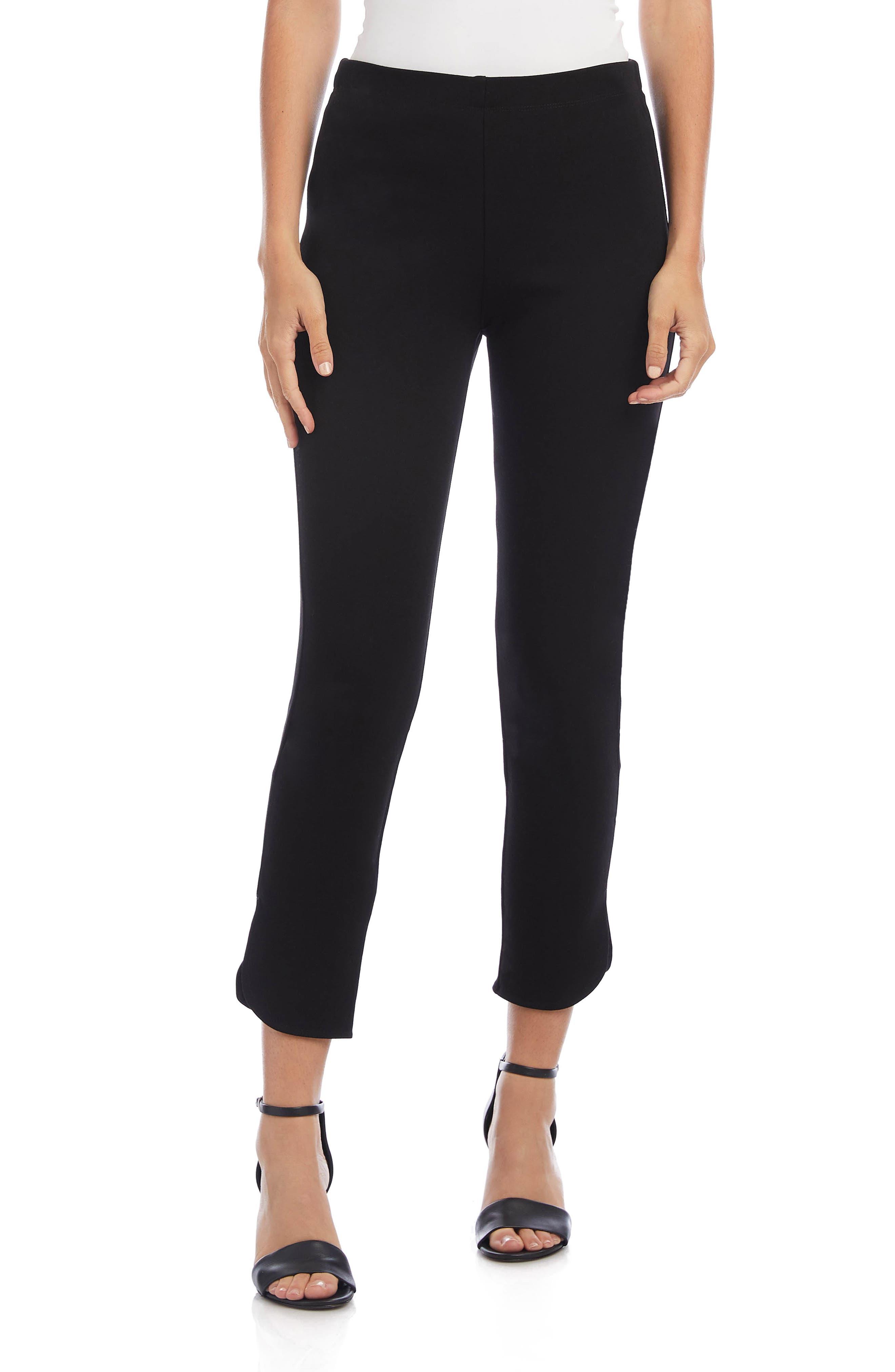 Karen Kane Womens Island Rhythm Striped Crop Dress Pants Trousers BHFO 8858