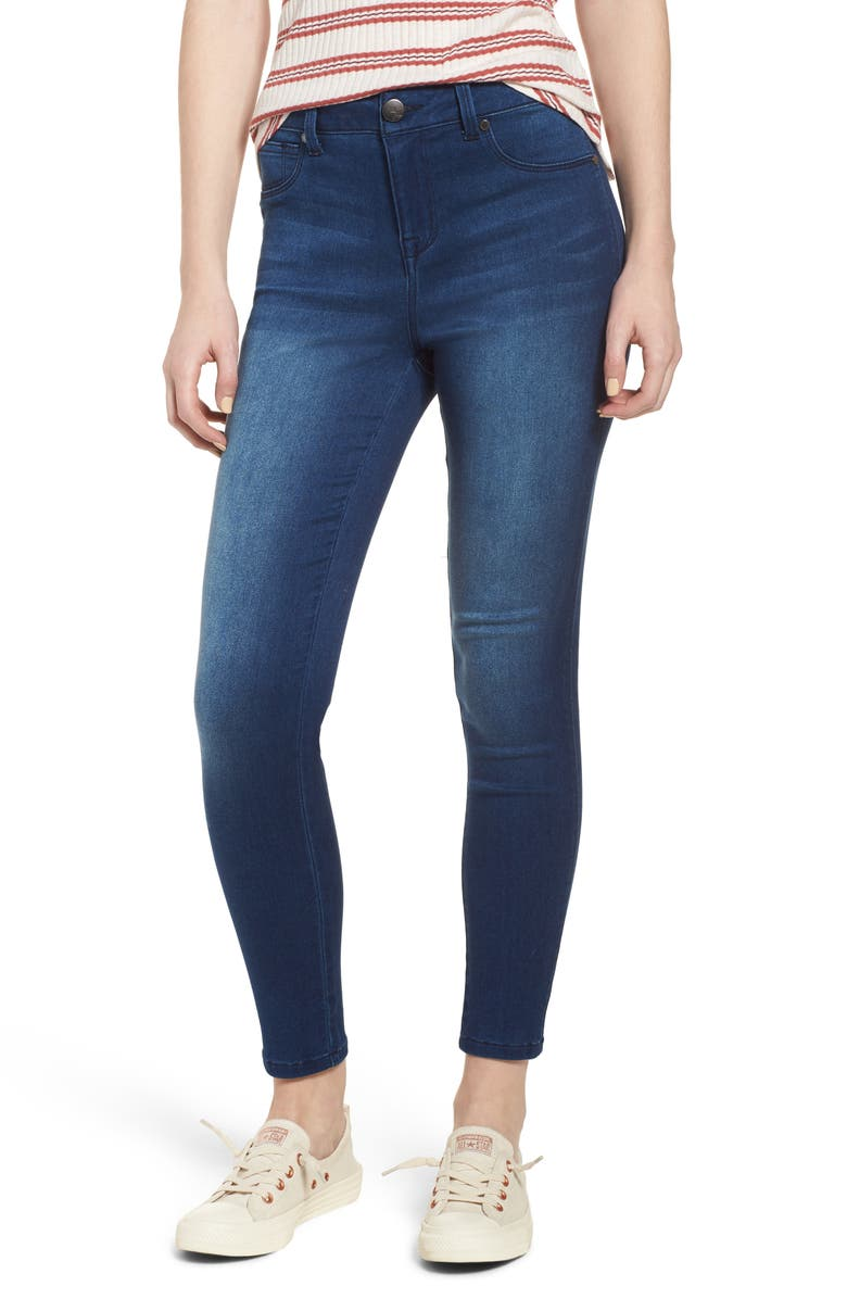 1822 DENIM Butter High Waist Skinny Ankle Jeans, Main, color, 427