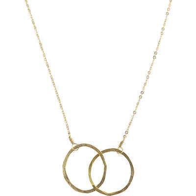 Nashelle Eternity Hoop Necklace