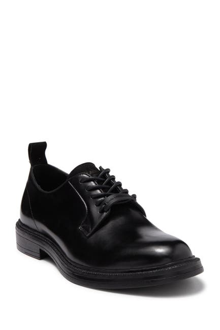 Image of Karl Lagerfeld Paris Leather Plain Toe Derby