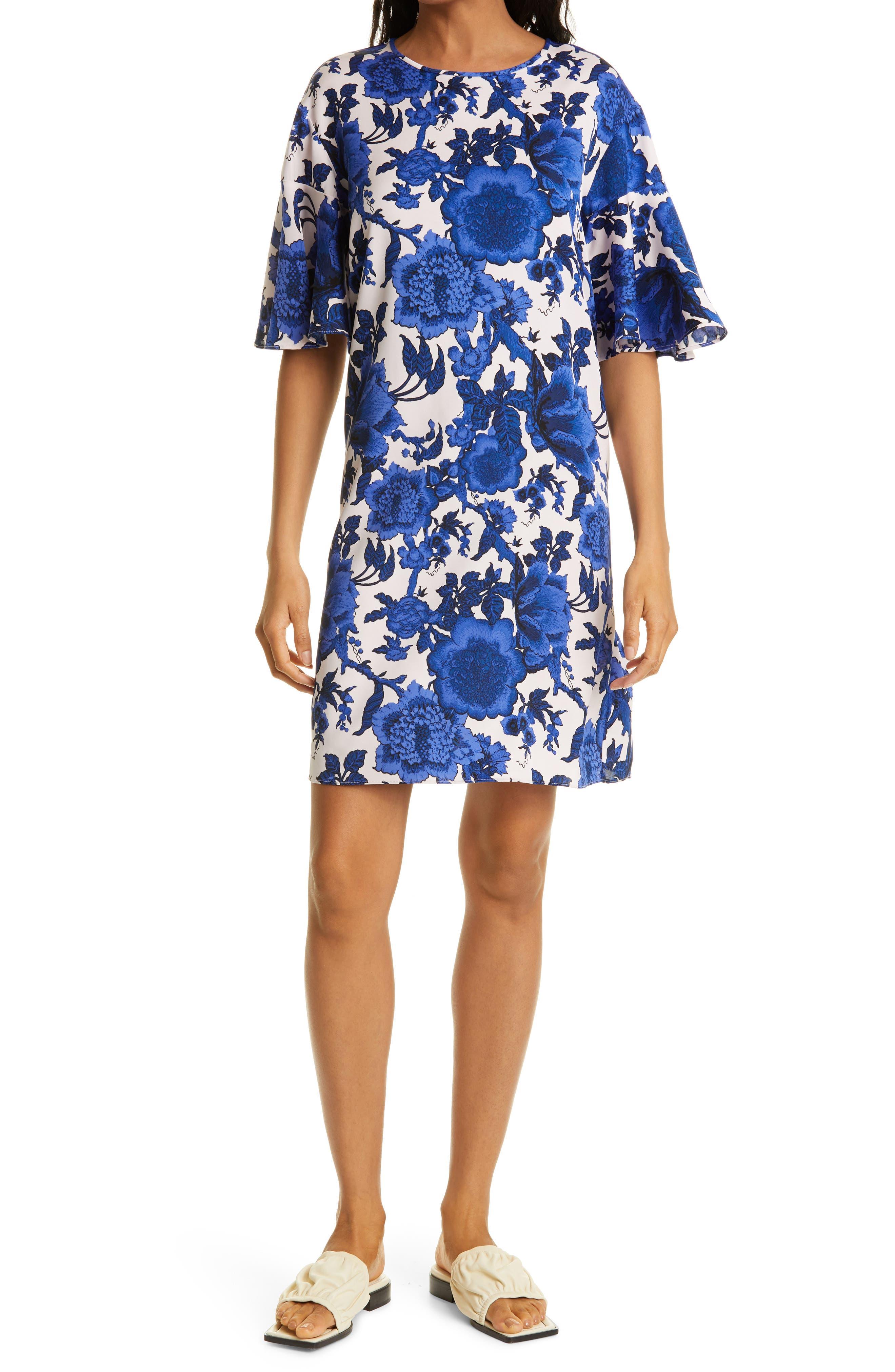 Arlene Floral Shift Dress