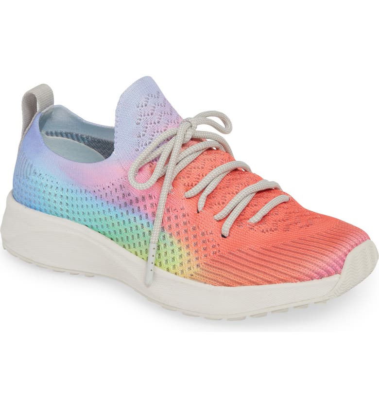 NATIVE SHOES Mercury 2.0 Liteknit Sneaker, Main, color, HOLOGRAPHIC PINK/ CLOUD GREY