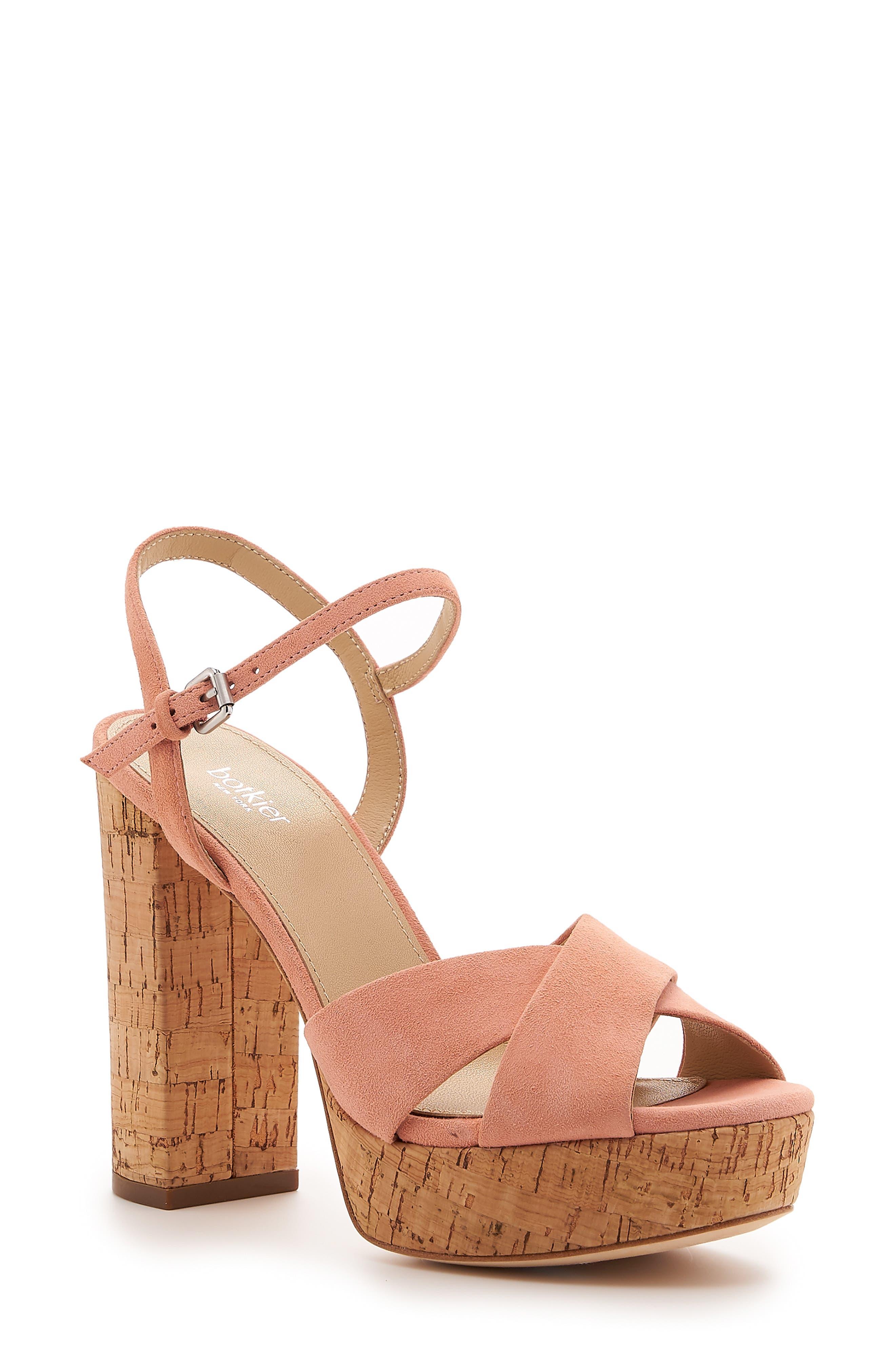 Botkier Plateau Platform Sandal, Pink
