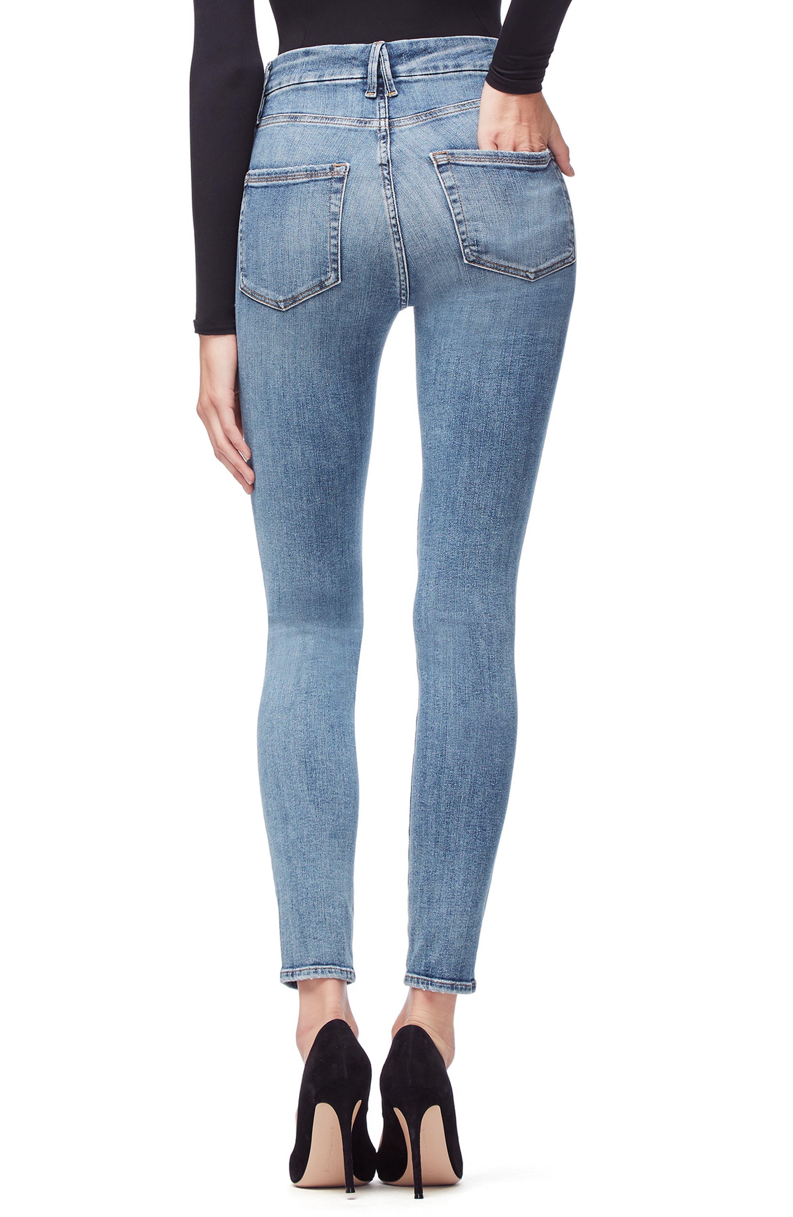 ,                             Good Legs High Waist Skinny Jeans,                             Alternate thumbnail 48, color,                             407