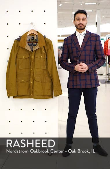 Orel Water Resistant Waxed Cotton Jacket, sales video thumbnail