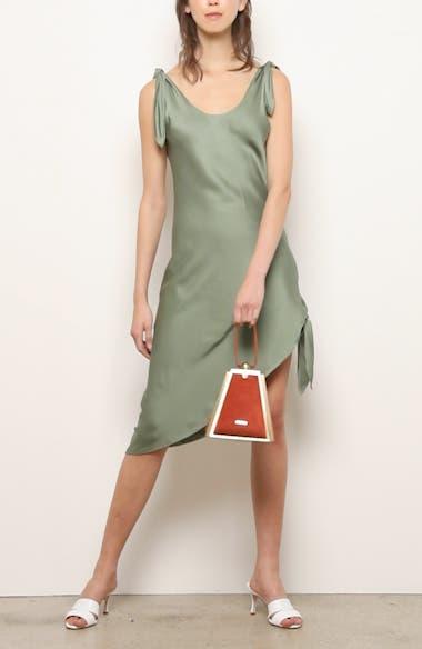 Delilah Asymmetrical Cotton & Linen Dress, video thumbnail