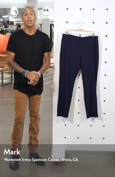Slim Zip Ankle Knit Pants, sales video thumbnail