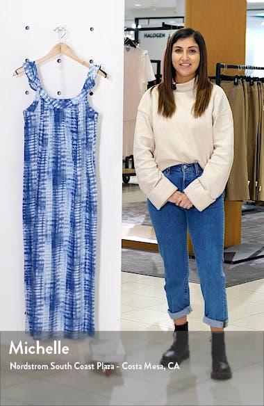 Ruffle Strap Maxi Dress, sales video thumbnail