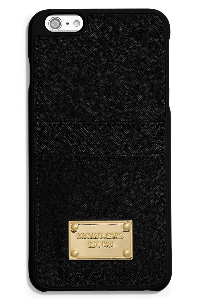 huge discount cde52 f74fb Saffiano Leather iPhone 6 Plus Case