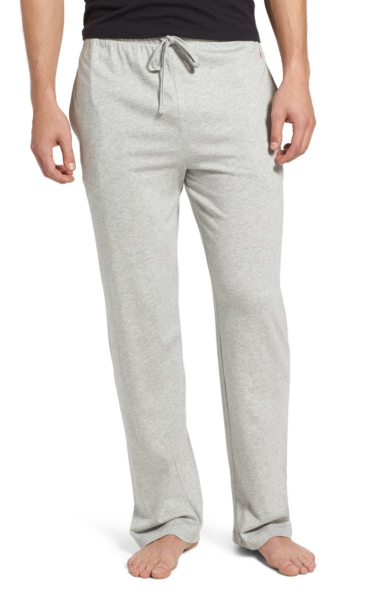 POLO RALPH LAUREN Pajama Pants, Main, color, ANDOVER HEATHER
