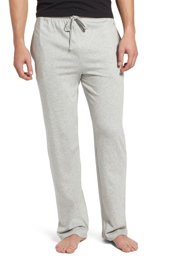 Polo Ralph Lauren Men's Ultra-soft Pima Cotton Supreme Comfort Knit Pajama Pants In Andover Heather