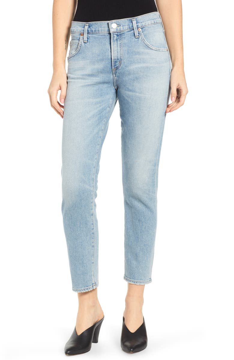 CITIZENS OF HUMANITY Elsa Slim Jeans, Main, color, RENEW