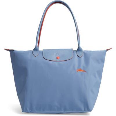 Longchamp Le Pliage Club Tote - Blue
