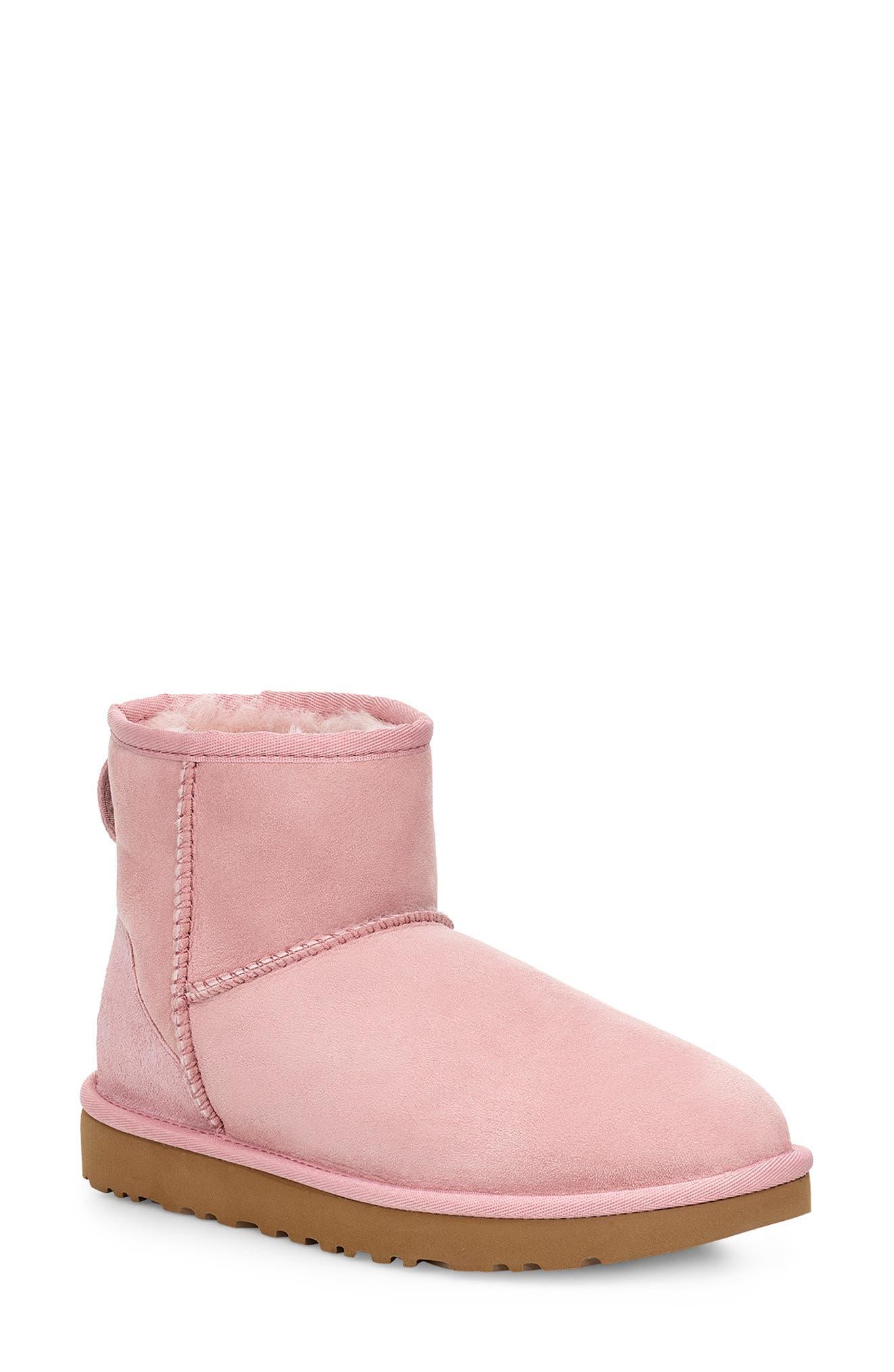 UGG® Classic Mini II Genuine Shearling Lined Boot (Women)