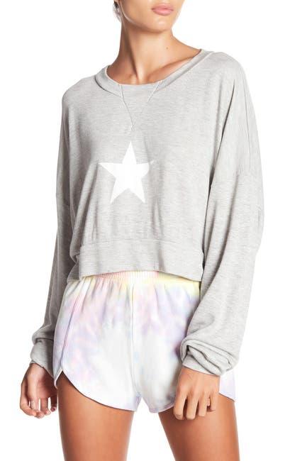 Image of WILDFOX All Star Nella Pullover Sweatshirt