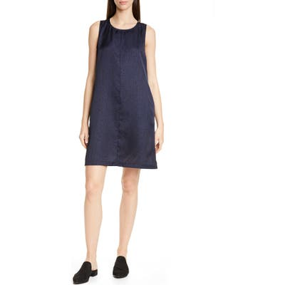 Eileen Fisher Shift Dress, Blue