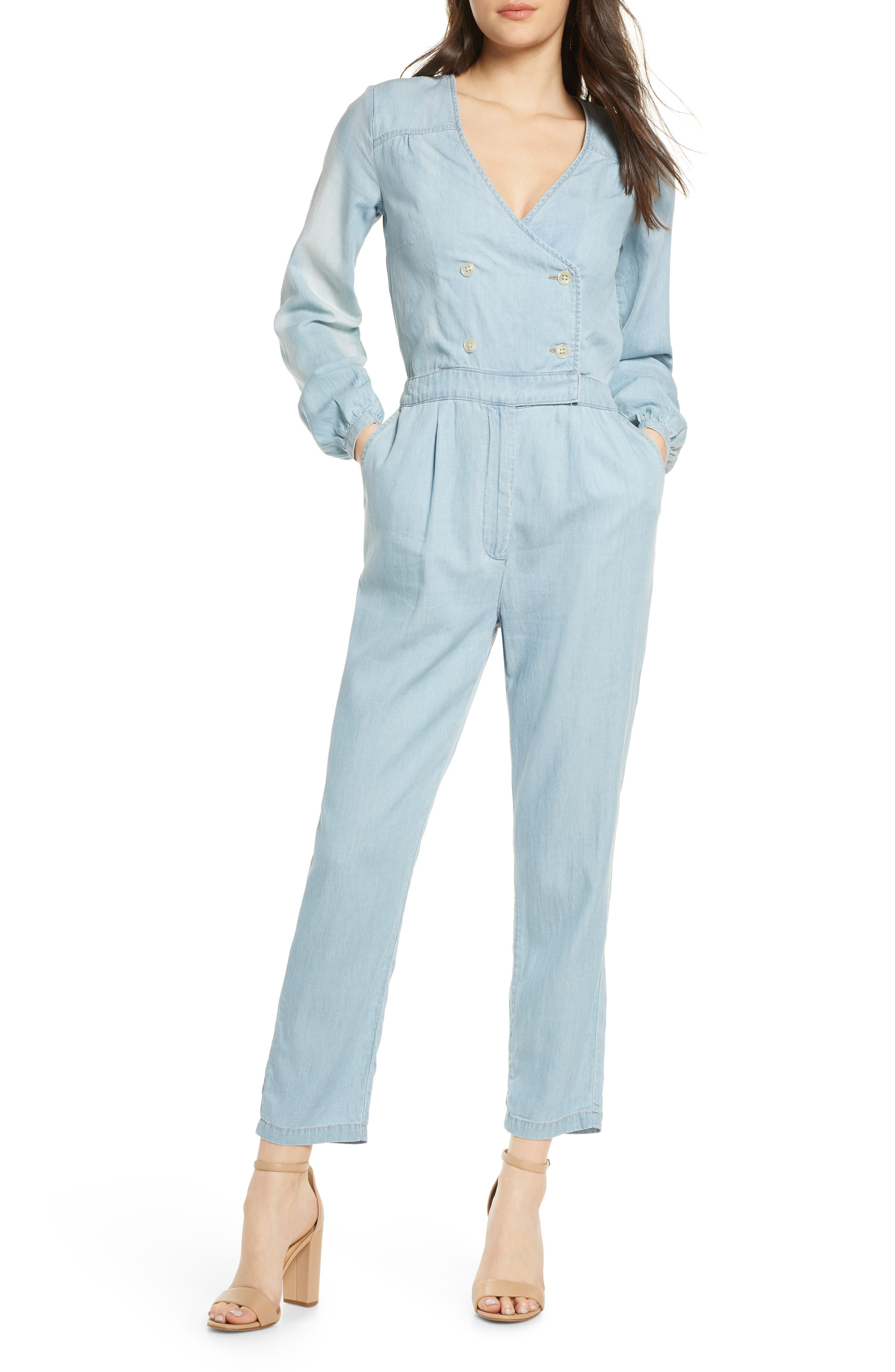 Image of Ali & Jay Surfrider Double Breasted Jumpsuit