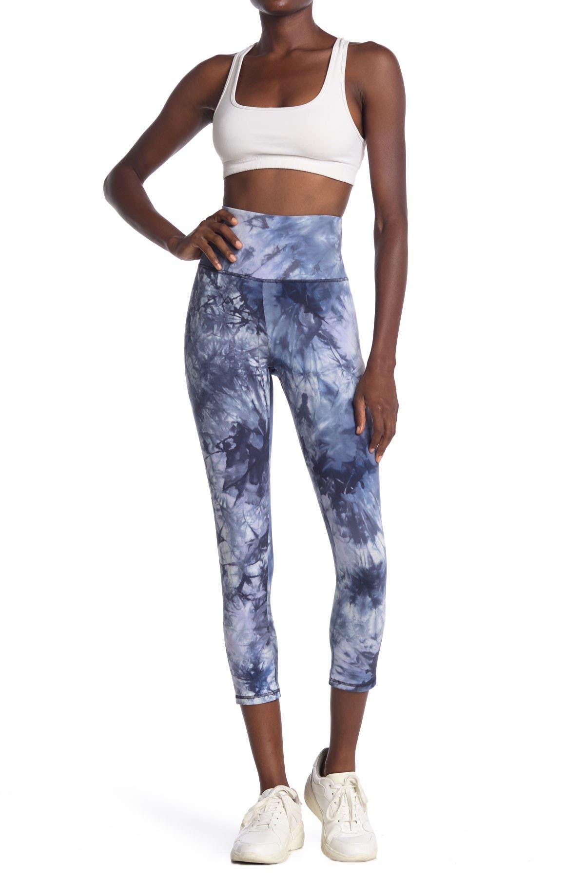 Image of Marika Christy Tie Dye Print Capri Leggings