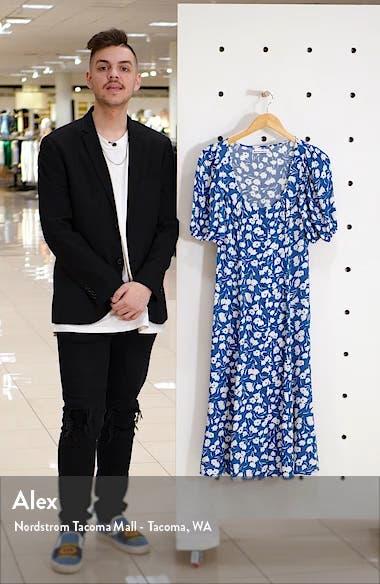 Beechwood Floral Midi Dress, sales video thumbnail