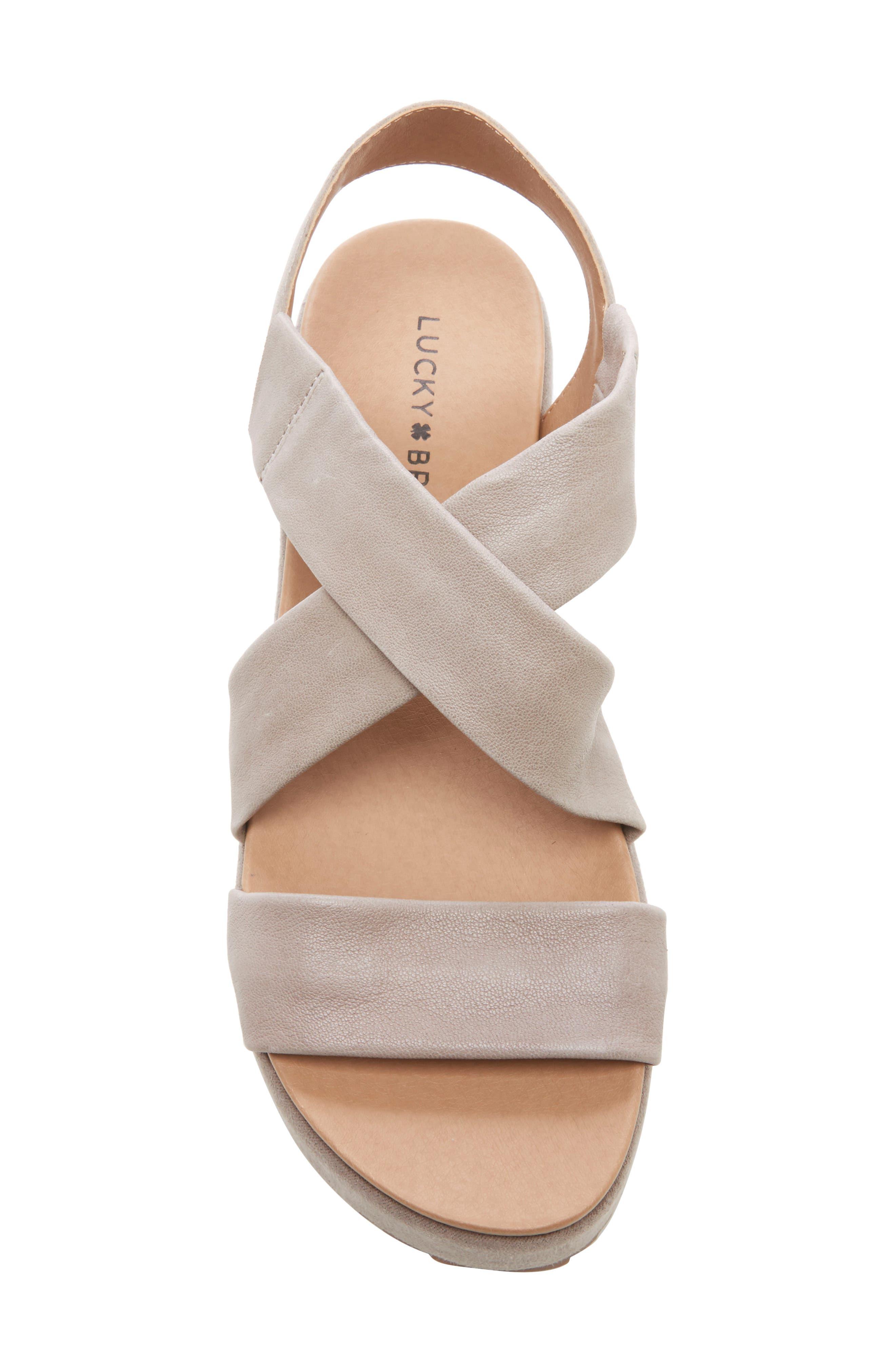 ,                             Waldyna Wedge Platform Sandal,                             Alternate thumbnail 5, color,                             060