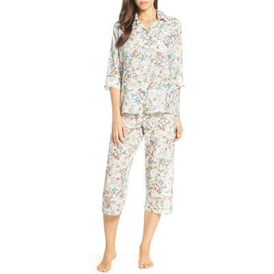 Papinelle Emmy Cotton & Silk Pajamas, Blue