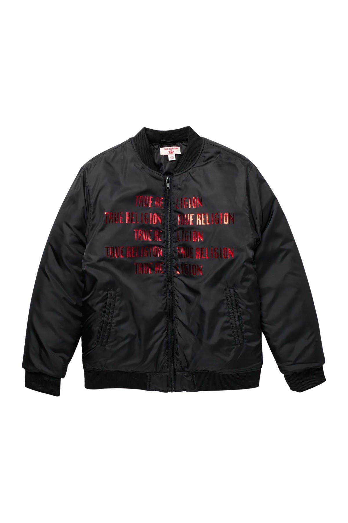 Image of True Religion Heavyweight Bomber Jacket