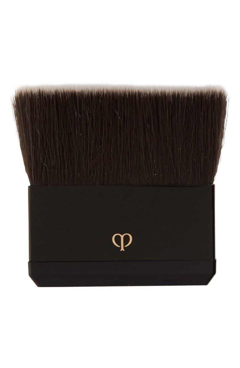 CLÉ DE PEAU BEAUTÉ Radiant Powder Foundation Brush, Main, color, NO COLOR