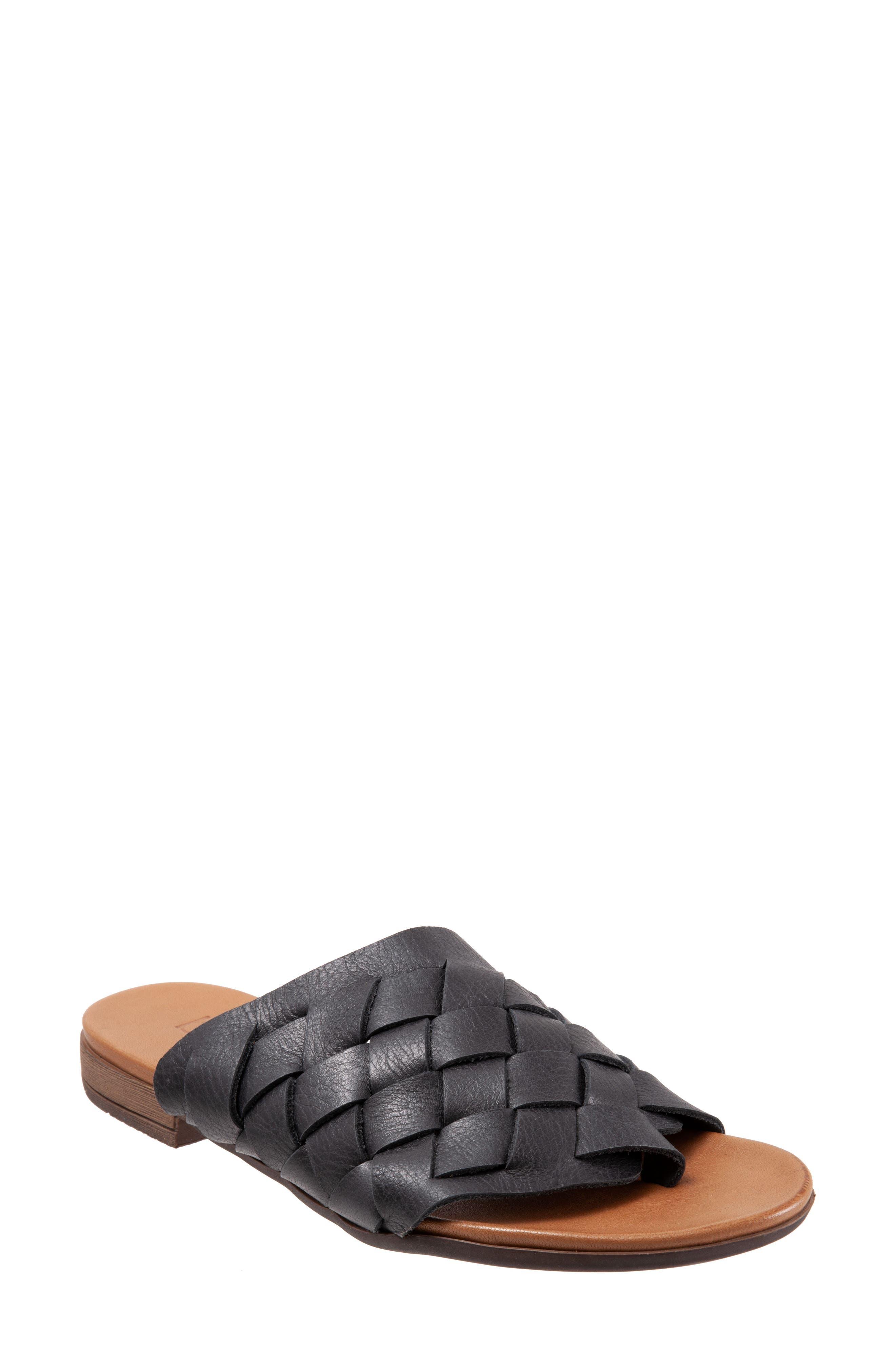 Tory Woven Slide Sandal